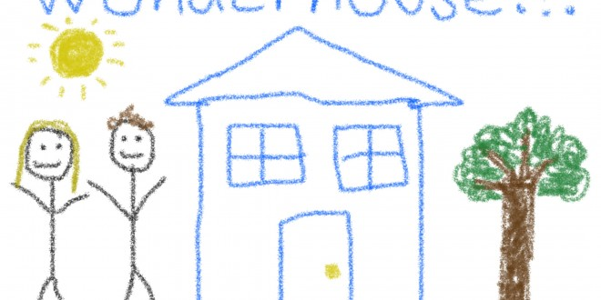 Artist's rendering of a WUnderground house