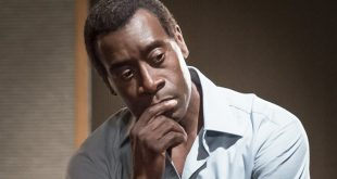 Don Cheadle isn't mad; just disappointed.